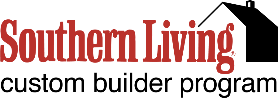 Southern Living Custom Builder Program logo red & black